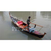 贡多拉木船情侣手划船大连东方水城威尼斯游船欧式观光客船