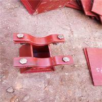 HT-3型焊接型滑动管托 DN200滑动管托厂家 齐鑫可变弹簧支吊架
