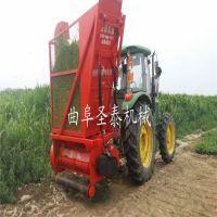 新型秸秆粉碎回收机 玉米秸秆青储收获机