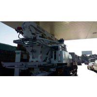 21米小搅拌输送泵车-云南搅拌输送泵车