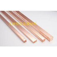 镀锡铜母排载流量 接地铜排规格 紫铜条定做加工 常州镀锌扁铜铜排材