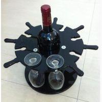亚克力红酒架定制 餐厅酒吧酒架 红酒杯架 欧式创意架 高教杯架