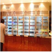 供应上海欣蒙五星级酒店红酒柜/六门饮料保鲜柜/多门饮料保鲜柜 尺寸可定做