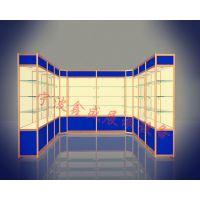 宁波鑫盛生产厂家专供样品陈列式展示架展览会携带式铝合金展示架