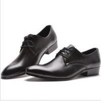 夏款韩版英伦男鞋子 休闲皮鞋 英伦潮流男皮鞋内增高男鞋正装皮