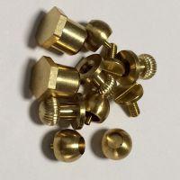 深圳厂家直销多种规格圆螺母 铜套 自动车床件 安成五金加工定制