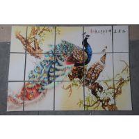瓷砖彩绘图案打印价格 瓷砖uv彩印拼图彩印加工