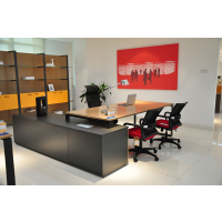 中山办公家具定制批发,板式办公桌椅采购,国景家具