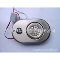 生产及供应LED厨柜灯:暗藏式椭圆形平面家私灯HST-021T1 LED