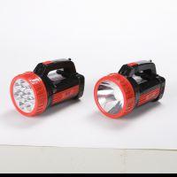 明之选703优质15灯/1灯充电式探照灯 应急照明手提灯 强光LED