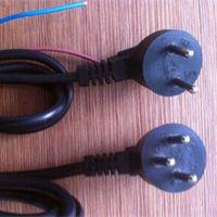 供应以色列插头电源线 以色列标准电源线 SII认证电源线