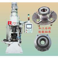 瑞威特大型数控铆接机,汽车轮毂轴承数控铆接机BLM50,NCリベット打ち機,重型旋铆设备