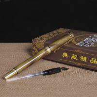 2015款金丝楠阴沉木钢笔商务时尚书写笔文教办公笔木质个性签名笔