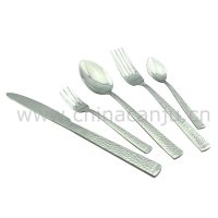 【厂家批发】方柄蛇纹刀叉勺 不锈钢西餐具 不锈钢刀勺叉