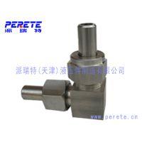 天津供应优质不锈钢锥密封焊接式直角管接头 304焊接弯头
