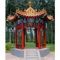 北京古建凉亭长廊施工制作厂家