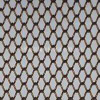十年老厂铝丝编织金属网帘 黑色幕墙装饰网帘