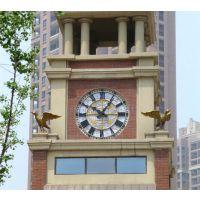 山东康巴丝建筑大钟户外防水钟表不锈钢钟表1-10米大钟户外墙面挂钟