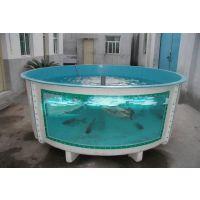 正品玻璃钢厂家定做环氧无毒玻璃钢鱼池 工厂化水产鱼苗养