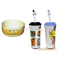 供应各种塑料杯热转印加工、图案逼真、色彩鲜艳