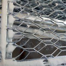 旺来加工定做铁板网 热镀锌钢板网 海口钢板网