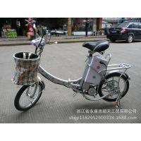 直销(不含电池)16寸迷你折叠电动车折叠电动自行车电瓶车可载人