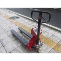 佛山南衡耀华品牌电子叉车秤,高精度高碳钢结构手推运输车秤价格厂家