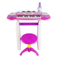 厂家直销灿辉BB33D益智多功能音乐电子琴带麦克风儿童玩具