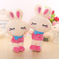 毛绒玩具米菲兔公仔布娃娃LOVE兔子儿童节 生日礼物厂家大量批发