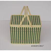供应环保礼品包装盒 竹盒 竹篮 hx100