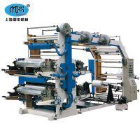 上海盟申系列六色柔性凸版印刷机|到数自动停机|断料自动停机