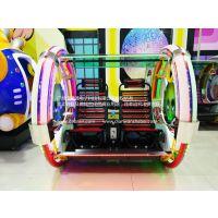 乐吧车厂家供应户外电玩游戏机小象乐吧车亲子电玩游戏机