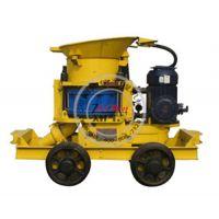 喷浆机,知信(图),矿用湿式喷浆机