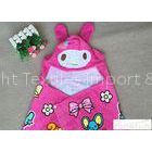 350gsm Lovely Convenient Hooded Poncho Towels For Girls 60*120cm