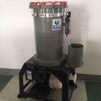 PVC过滤器 耐铬酸 折叠滤芯PVC电镀桶 PP滤袋式滤机