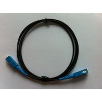 塑料通信光纤SC TO SC  线长1M(可定制长度)