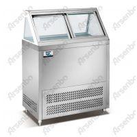 雅绅宝不锈钢冰淇淋柜多少钱一台 冰淇淋展示柜 风冷冷冻柜