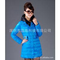 2012年款时尚女款电热外套,电热棉衣,高档电热服批发商