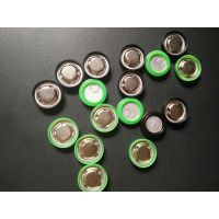 供应18650锂电池盖帽不锈钢正及片无孔头充电电池配件五金垫片