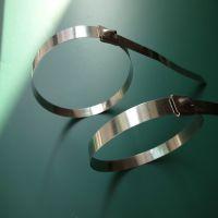 厂家直销电力标牌不锈钢扎带,钢珠不锈钢扎带,不锈钢扎口