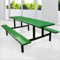 连体食堂餐桌椅厂家直销-牢固耐用-优质食堂餐桌椅连体批发价格