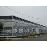 四川农科院基地灵芝孢子粉温室暖房原盛和温室大棚