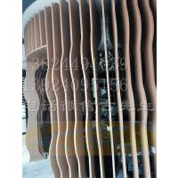 供应室内外墙面装饰材料铝合金热转印木纹石纹铝方管方通卡槽式铝方管定做生产厂家