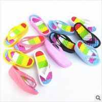 韩国摇摇鞋摇摆鞋坡跟塑身拖鞋夏季人字拖家居拖鞋厂家直销批发