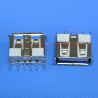 广迈电子科技 USB连接器 A母180度直插母座 电源 充电器 电脑接口