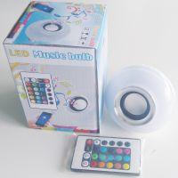 深圳工厂直销 LED音乐灯泡 智能调光 颜色变色 语音播放 6W
