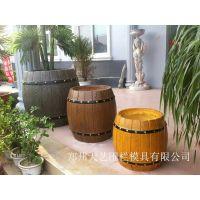 供应郑州天艺水泥仿木花桶 ,啤酒桶,木桶、木箱,水泥桶、塑料模具