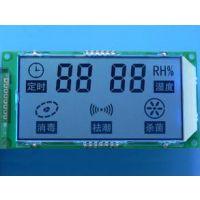 厂家定制德昌牌LCD液晶屏 温控显示屏 黑白段码LCD显示屏