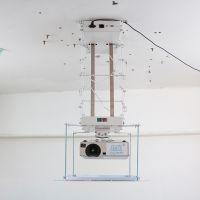 投影仪电动吊架2米 水平方向旋转180度投影机吊架 带LED电子定位