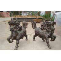 恒保发铜麒麟小号(图)、铜雕麒麟定制价格、青海铜雕麒麟